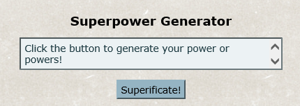 What the generator looks like.