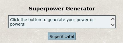 What the generator looks like.